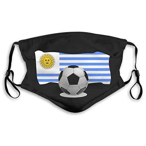 Mouth Protection Balón De Fútbol con Bandera De Uruguay...
