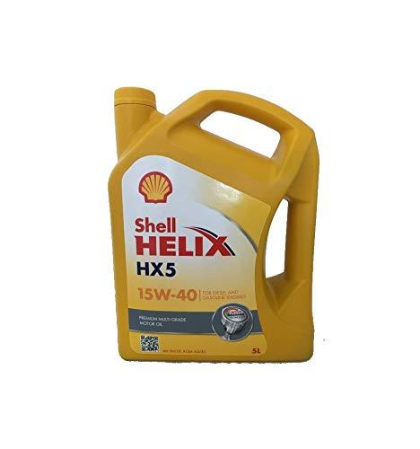 Shell SHX515405 Helix HX5 15W40 5L