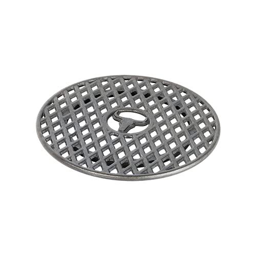 MOESTA-BBQ 19295 - Sizzle Rost aus Gusseisen –BBQ-Disk Zubehör – 30cm Durchmesser – Grillrost-Einsatz Plancha/Wok-Krone