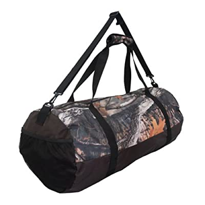 Large 50L Camo Duffle Carp Fishing Tackle Holdall Carryall Rucksack Bag by Savage Island