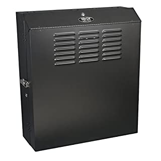"Tripp Lite 5U Vertical Wall Mount Rack Enclosure Cabinet, Low Profile, Switch-Depth, 20"" Deep, Black (SRWF5U ) (B007A1G18C) | Amazon price tracker / tracking, Amazon price history charts, Amazon price watches, Amazon price drop alerts"