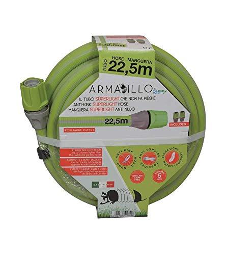 Idroeasy Armadillo Superlight Il Tubo Super Leggero da Giardino Anti Nodo e Anti Torsione Made in Italy (22.5)