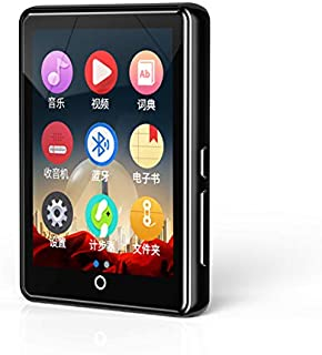 New Metal Ruizu M7 Full Touch Screen Bluetooth MP3 Player 8GB 16GB HiFi Music Player with FM Radio E-Book Video Built-in S...