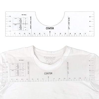 T-Shirt Ruler Guide, Tshirt Ruler Guide for Vin...
