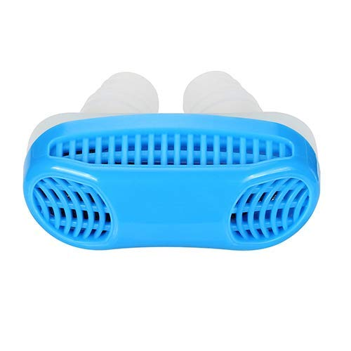 BomStar Anti Snoring Devices-Air Purifier Filter Snore Stopper Device Nose Vent Solution for Comfortable Sleep (Blue)
