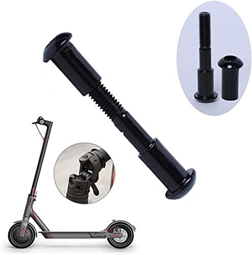 Poweka Tornillo de Perno Fijo Tornillo de Bloqueo del Eje Plegable Compatible con Xiao-mi MIJIA M365 Scooter Eléctrico por Poweka (Negro)