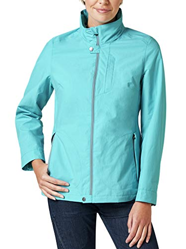 Klepper Damen Aquastop Protection Jacke einfarbig Hellblau 40