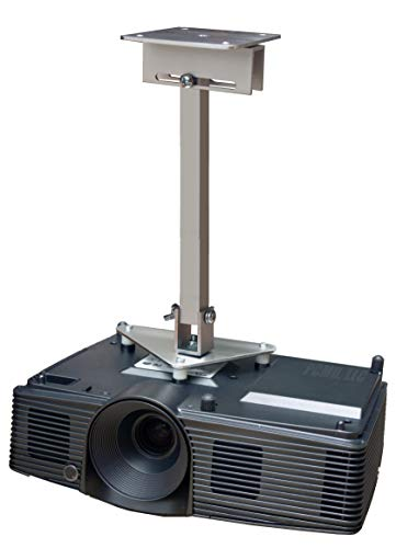 PCMD, LLC. Projector Ceiling Mount Compatible with Infocus IN114x IN116a IN116x IN118HDa IN118HDSTa with Lateral Shift Coupling (14-Inch Extension)