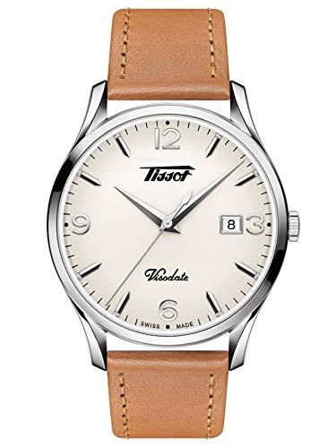 TISSOT Herren Analog Quarz Uhr mit Edelstahl Armband T1184101627700