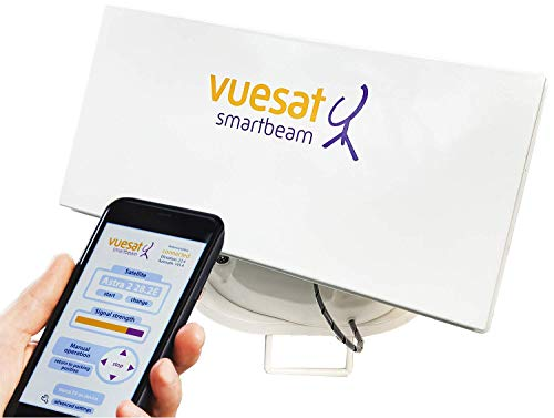 Vuesat Smartbeam Automatic Satellite Dish System with Mobile Phone Control...
