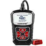 KONNWEI KW310 OBD2 Reader Universal Car Diagnostic Scanner Tool for OBDII/EOBD CAN Vehicles Engine Code Reader...