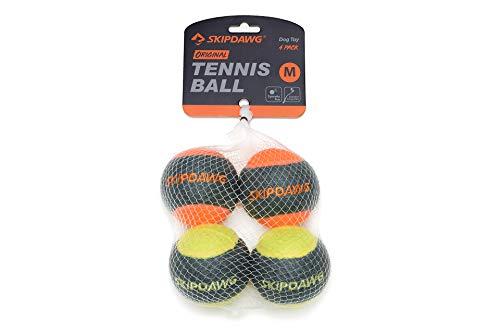SKIPDAWG Hunde Tennisball mit Quietscher