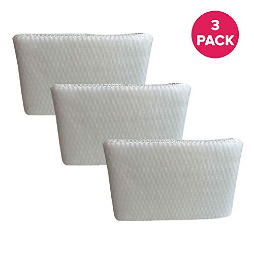 Crucial Air Humidifier Wick Filter Replacement - Compatible with Honeywell Air Filters Part # HAC-504AW, HAC-504 - Models HCM-300T, HCM-305T, HCM-310T, HCM-315T, HCM-350 - Bulk (3 Pack)