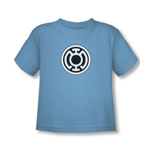 Green Lantern - - Bleu Toddler Logo Lanterne T-shirt En Caroline du Bleu, 4T, Carolina Blue