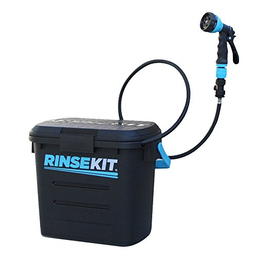 Rinse Kit Portable Sprayer with Hot Water