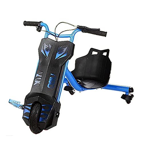 Drifter Derrapador eléctrico Moto Triciclo Go Kart Coche de Pedales Racing Deportivo...