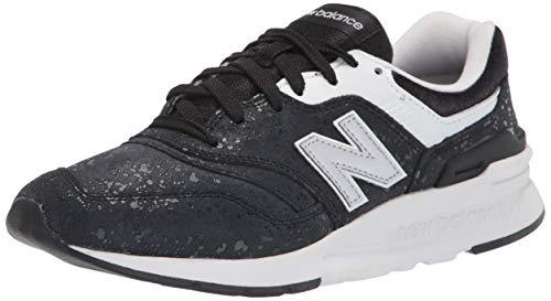 New Balance 997H', Zapatillas Mujer, Negro, 39 1/3 EU