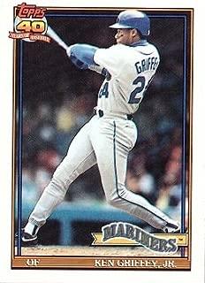 1991 topps ken griffey jr