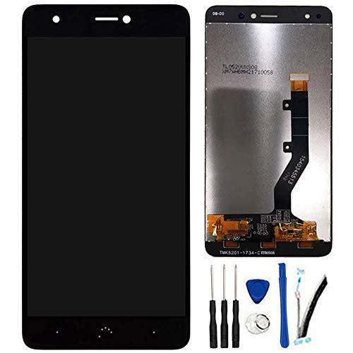 """SOMEFUN Pantalla LCD Repuestos Compatible con BQ Aquaris X/X Pro 5.2"""" LCD Pantalla Táctil Digitalizador Asamblea de Vidrio (Negro)"""