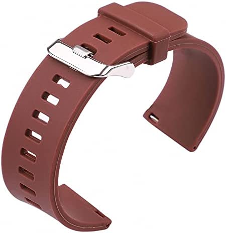 HUMINGG Silicone Ruber Watch Strap Band 22mm 20mm 5 4 Max 47% OFF years warranty Colors 18mm