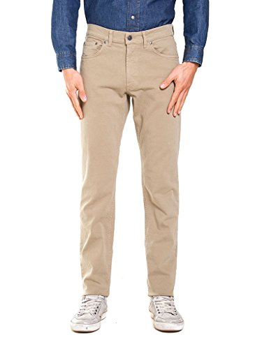 Carrera Jeans - Pantalone per Uomo, Tinta Unita, Tessuto Bull Denim IT 54