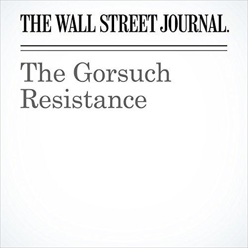 The Gorsuch Resistance copertina