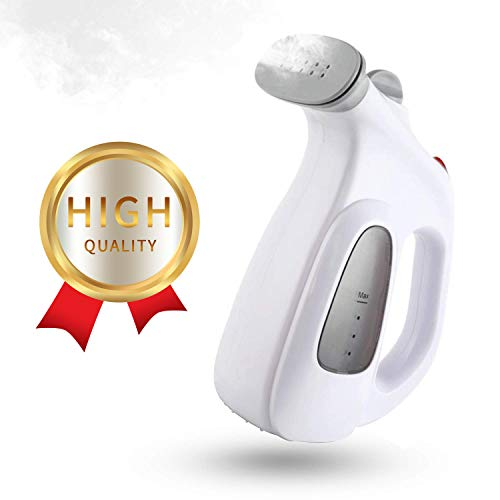 CUSIMAX Garment Steamer, Portable Handheld Clothes Steamer for Travel & Business Trips, Wrinkle Remover with Fabric Brush, Fast Heat-Up Powerful Dry Steam Technology, 7-in-1 Upgraded Version
