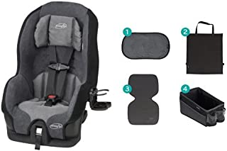 Evenflo Tribute LX Convertible Car Seat, Saturn with Car Seat Accessory Kit
