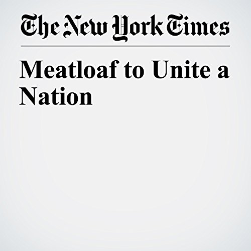 Meatloaf to Unite a Nation copertina