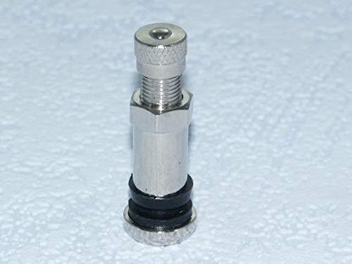 Lot de 4 valves métalliques pour voiture Longueur 38,5 mm Diamètre de trou de jante 8,3 mm 562271-4