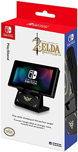 HORI Compact PlayStand - Zelda Edition, Officially Licensed by Nintendo - Nintendo Switch