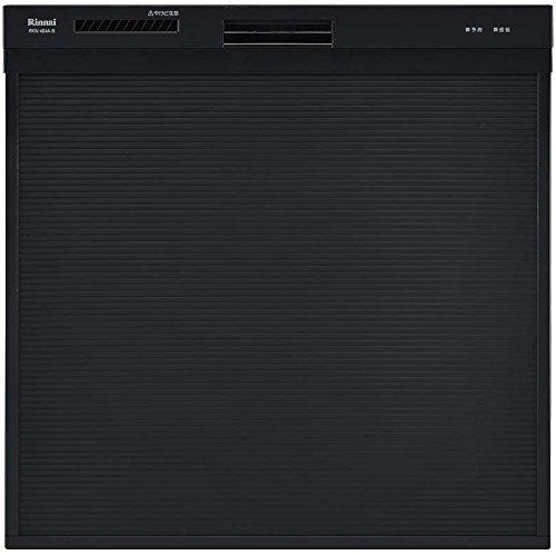 Rinnai RKW-404A-B ブラック [食器洗い乾燥機 (ビルトイン スライドオープンタイプ 5人用)]