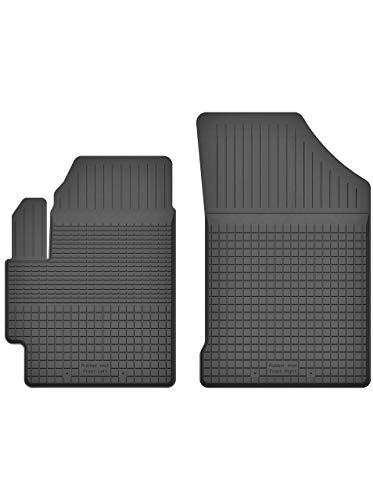 KO-RUBBERMAT 2 Stück Gummifußmatten Vorne geeignet zur Suzuki SX4 S-Cross (Bj. ab 2013) ideal angepasst