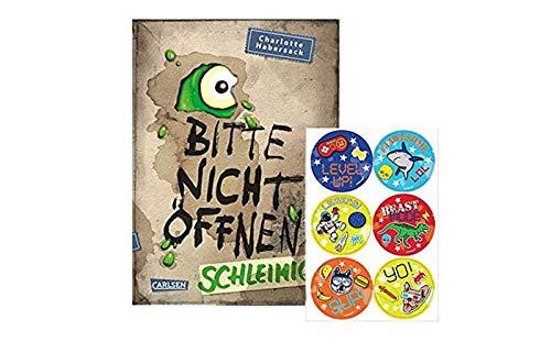 Carlsen Verlag Schleimig! Bitte Nicht öffnen, Band 2 (Gebundene Ausgabe) + 1. Kinder- Stickerbogen