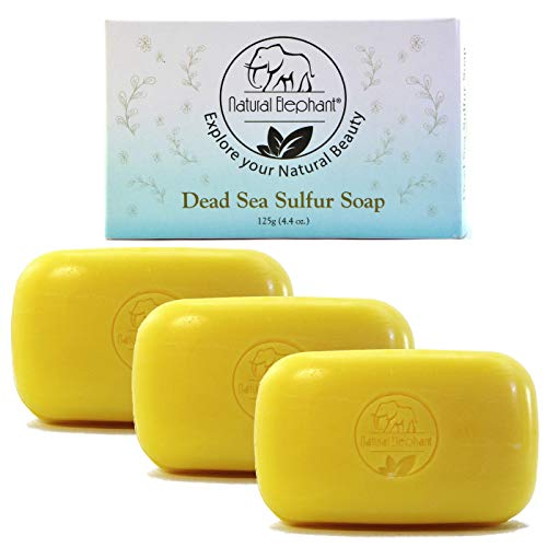 Dead Sea Sulfur Soap by Natural Elephant