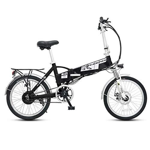 Lamyanran Bicicleta Eléctrica Plegable Adulto E-Bici eléctrica conmuta Bicicleta con 300W Motorvfor Viajes, Ciclismo y a Partir de Sales de Trabajar Bicicletas Eléctricas