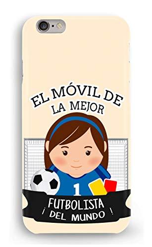 Funda Carcasa Futbolista para iPhone 6 Plus 6PLUS plástico rígido