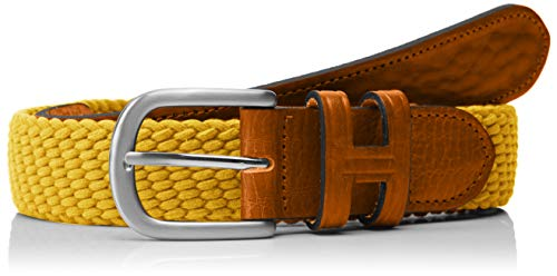 Cinturón amarillo para hombre