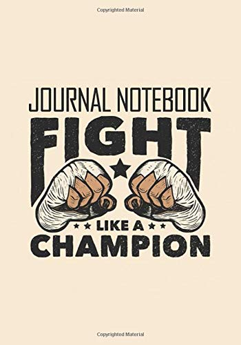 Conor McGregor Fight Like A Champion Notebook: Great Journal for School or as a Diary, Lined With More than 120 Pages 7x10inches.: Notebook that can ... Apologize Nobody Conor McGregor Notebook