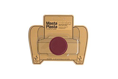 MastaPlasta - Parches Premium AUTOADHESIVOS para reparación de Cuero y Otros Tejidos. Rojo. Elije el tamaño y el diseño. Primeros Auxilios para sofás, Asientos de Coche, Bolsos, Chaquetas
