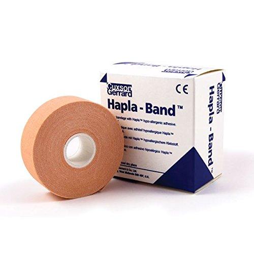 Hapla-Band Bandage Rolle | Dehnbar | Leichte Kompression mit Polster