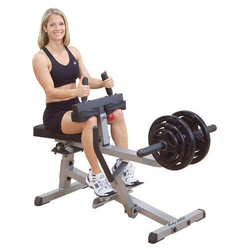 Body-Solid GSCR349 Seated Calf Raise Exercise Machine for Strength Training, Home Gym Equipment