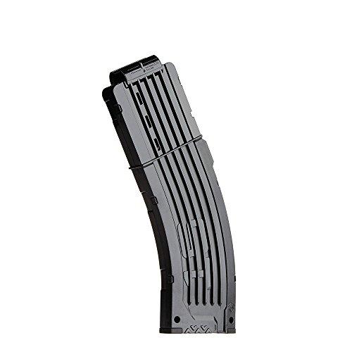Goolsky Worker 15 Darts Quick Ricarica Clip Magazine per Nerf Toy Gun N-Strike Elite - Trasparente