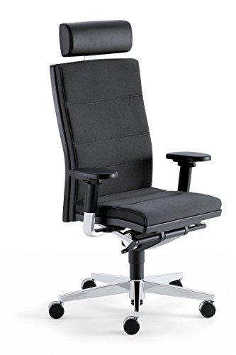 Sedus Drehsessel mr. 24 XXL bis 200 kg mit Armlehnen Bürosessel Bürostuhl Grau