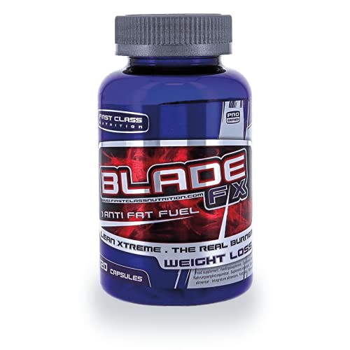 First Class Nutrition - Blade FX (120 capsules) - Fatburner - Vetverbrander - Afslankpillen.