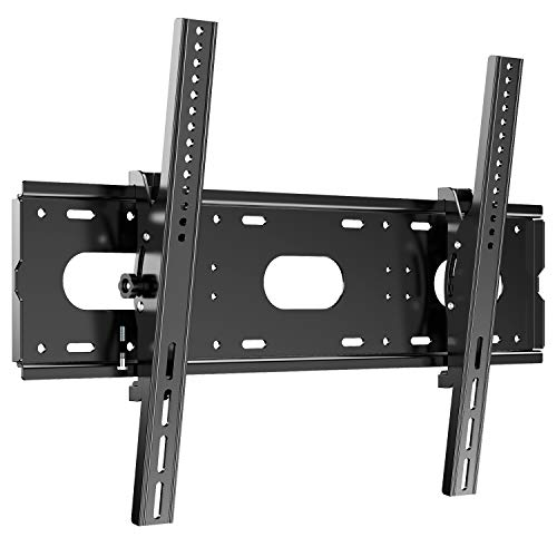 JXMTSPW テレビ壁掛け金具 42~85インチLCD LED液晶テレビ対応 左右平行移動式 上下角度調節可能 50 55 60 65 70 75 80超大型壁掛け モニター VESA対応 最大750×500mm 耐荷重100kg
