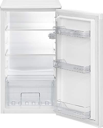 Bomann VS 7231 - Frigorífico completo (88 L, 106 kWh, descongelación automática, iluminación interior LED), color blanco