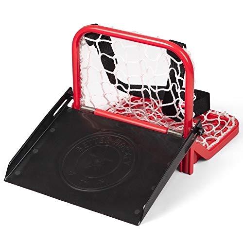 Better Hockey Extreme Sauce Catcher - Trainingshilfe für Pässe - Minitor hält bis zu 40 Pucks - Lustige Hinterhofspiele - Trickschüsse - Leicht zu tragen - Premium Qualität