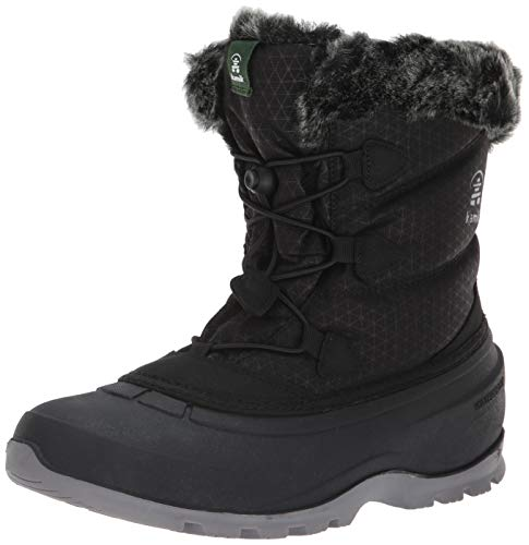 Kamik Women's Momentumlo Snow Boot, Black, 8