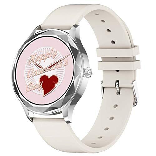 LDJ DT86 Bluetooth Smartwatch Fitness Men's Y Women's Watch Rate A Prueba De Agua Sphygmomanometer Sports Watch (para iOS Android),A